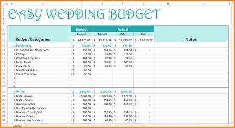 wedding budget template excel 9 wedding budget excel spreadsheet excel spreadsheets