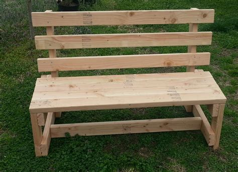 white wood garden bench solid handmade bench   etsy