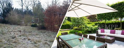 Kleinen Garten Gestalten Vorher Nachher by Vorher Nachher Bilder Garten Gempp Gartendesign