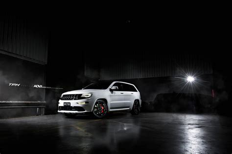 jeep grand cherokee srt modified white jeep grand cherokee srt8 adv6 m v2 sl gloss black
