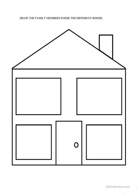 dream house worksheet  esl printable worksheets
