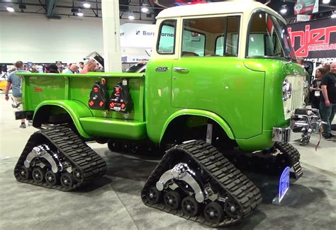 1958 Jeep Forward Control 170 Sema 2014 Youtube
