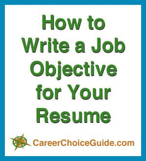 How To Write Your Objective On A Resume by Resume Objectives Writing Tips And Sles