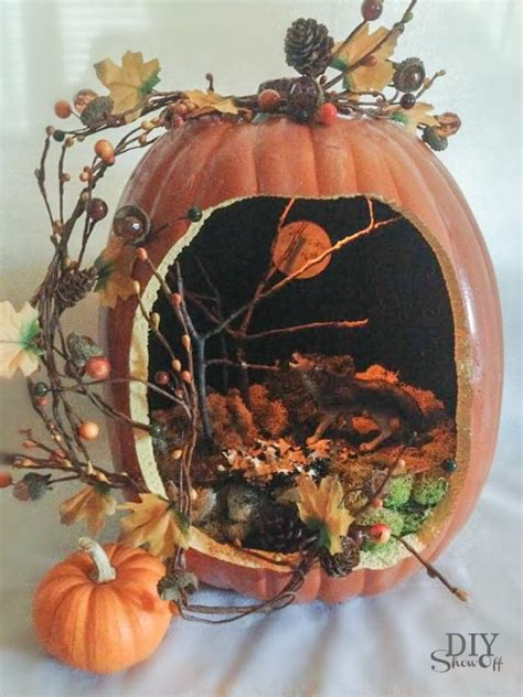 Pumpkin Diorama- New Astonishing Trend To Decorate Your ...