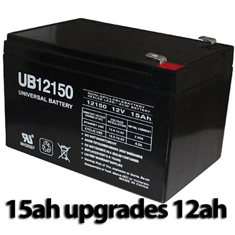 pride mobility go chair replacement ub12150 battery upgrade