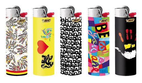 bic lighter designs bic lighters designed by belgian designer delphine bo 235 l