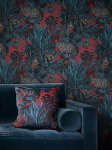 Deco Wallpaper Designs Faunacation Bold Wallpaper Designs Savages