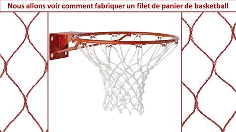 panier de basket de chambre fabriquer soi même un filet de panier de basket