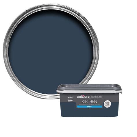 dulux timeless classics breton blue matt emulsion paint 2 5l departments diy my next home