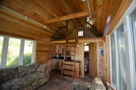 guest cabin renovation traditional kitchen boston