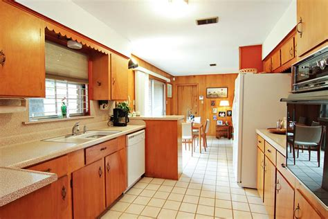 mid century kitchens 1956 time capsule ranch house original owner mid century modern glenbrook houston home retro
