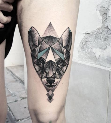powerful wolf tattoo designs tribal traditional lone wolf tattoos