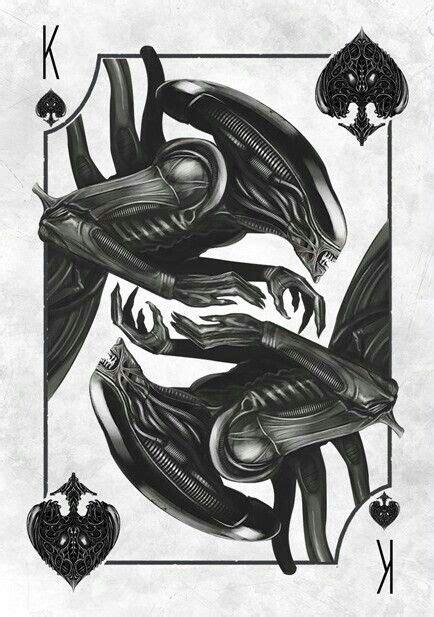 aliens  images cool artwork  art card art