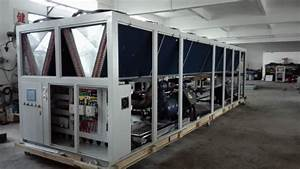 250 Ton 900 Kw Air Cooled Screw Compressor Water Chiller