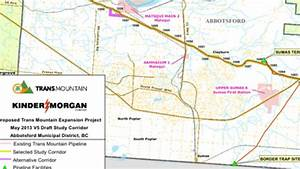 Kinder Morgan reveals proposed route for expanded Trans ...