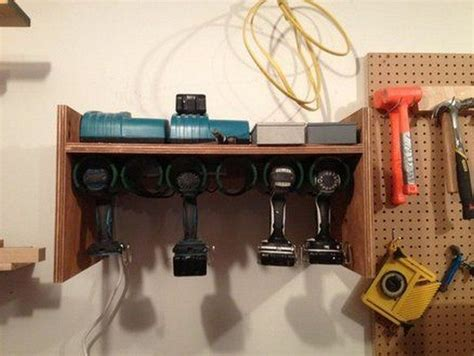 build  pvc drill storage unit diy projects