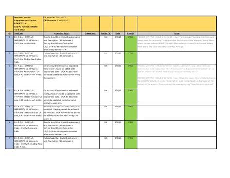 test script template test script sle pdf