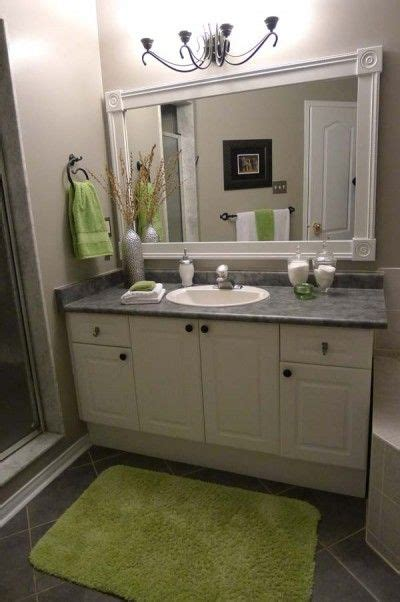 How To Put A Frame Around A Bathroom Mirror by Put A Frame Around Those Plain Bathroom Mirrors Decor