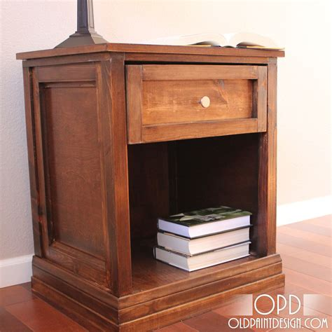 Plans For Nightstand by White Brina Bedside Table Diy Projects