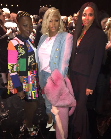 teyana taylor versace claire s life the versace pre fall 2019 show featuring