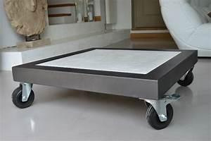 Table Basse Sur Roulette : table basse verre roulette industrielle le bois chez vous ~ Teatrodelosmanantiales.com Idées de Décoration