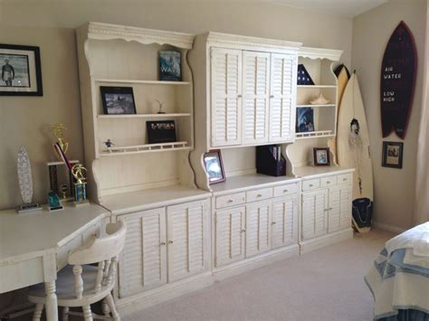 Used Ethan Allen Bedroom Furniture by Ethan Allen Wall Unit Painted With Sloan Paint I
