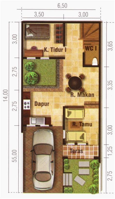 sketsa rumah mungil terbaik desain rumah minimalis