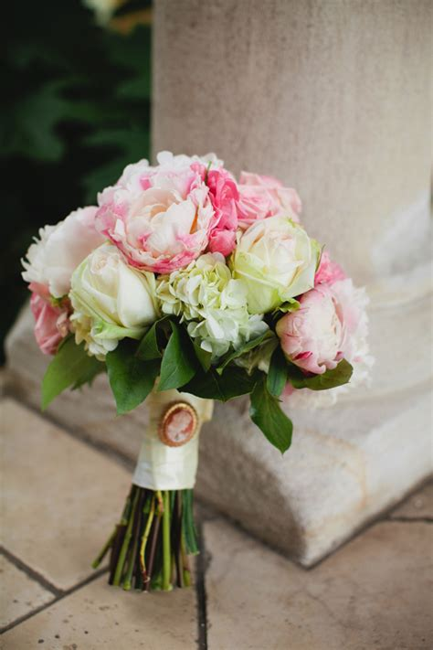 rose  peony wedding bouquet elizabeth anne designs
