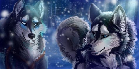 Wolf Wallpaper Kawaii by Janice And Coco Wolves In 2019 Wolf