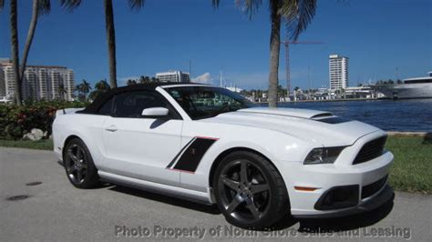florida  owner roush stage  convertible mustang gt spd