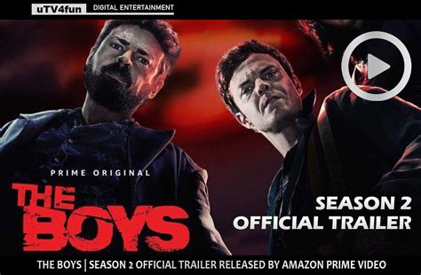 'The Boys' official trailer is released by Amazon Prime ...