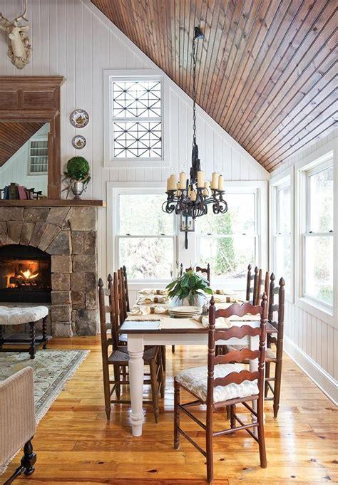 mountain cottage  highlands nc cottage kitchen decor