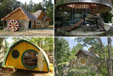 10 Unique Houses In The Hobbit Style by Seven Most Breathtaking Hobbit Homes From Around The World
