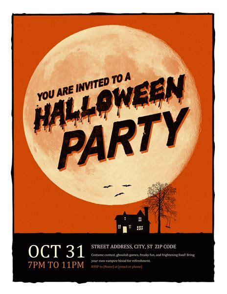 Free Halloween Dance Flyer Templates by 97 Best Flyer Ideas Templates Images On Pinterest