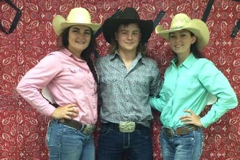 benton teens headed national rodeo finals wyoming marshall