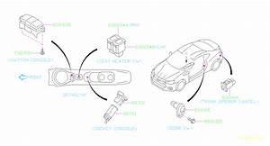 2018 Subaru Brz Seat Heater Switch  Left   Instrumentpanel
