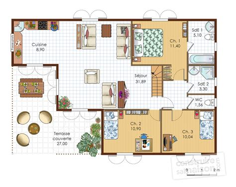 mobilier de cuisine a vendre villa antillaise dé du plan de villa antillaise