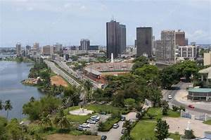 Abidjan, the economical capital of the Ivory Coast – Stock ...