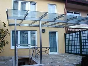 Vordacher bedachungen michael poitner gmbh for Terrassenüberdachung edelstahl