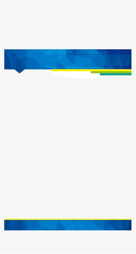 business blue border vector png business affairs
