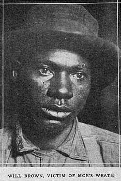 Omaha Race Riot and Lynching of Will Brown, 1919 - Clio