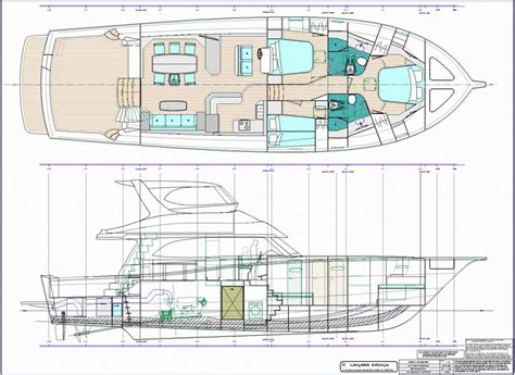 Design Plans by Monohull Powerboat Designs By Lidgard Yacht Design