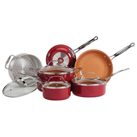 red copper  pc red copper cookware set  red copper  fleet farm