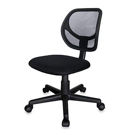bed bath and beyond desk chair armless mesh office chair bed bath beyond