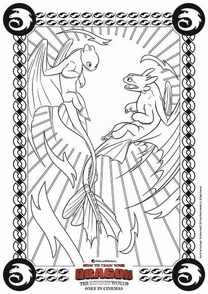 Dragon Coloring Train Pages Fury Printable Hidden