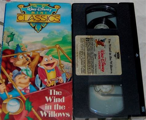 The Wind In The Willows Vhs Walt Disney Mini Classics