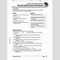 Economics Chapter 8 Section 3 Worksheet Answers  All The Worksheets For Free