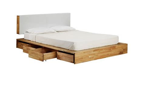 Storage Bed With 8 Rolling Drawers