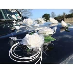 bouquet de mariage déco voiture mariage