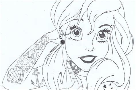 Punk Ariel By Lasconi On Deviantart
